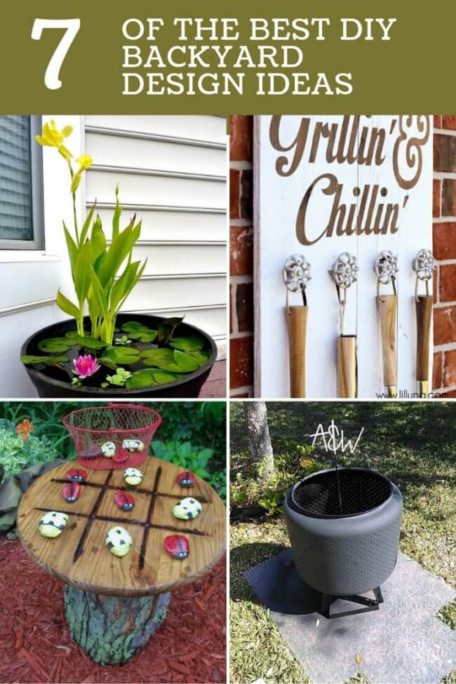 7 Of The Best DIY Backyard Design Ideas
