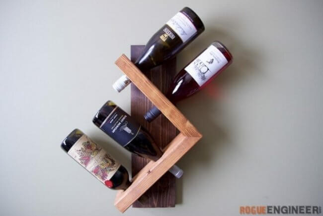 Wall Wine Holder