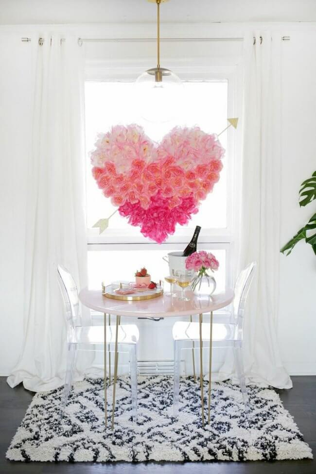 10 Diy Decorations For Valentine's Day