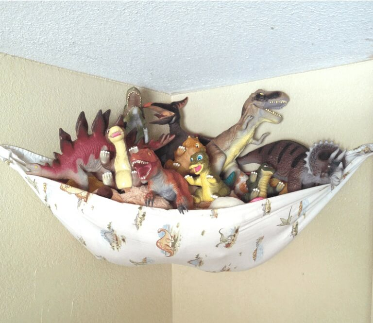 DIY Stuffed Animal Storage Hammock