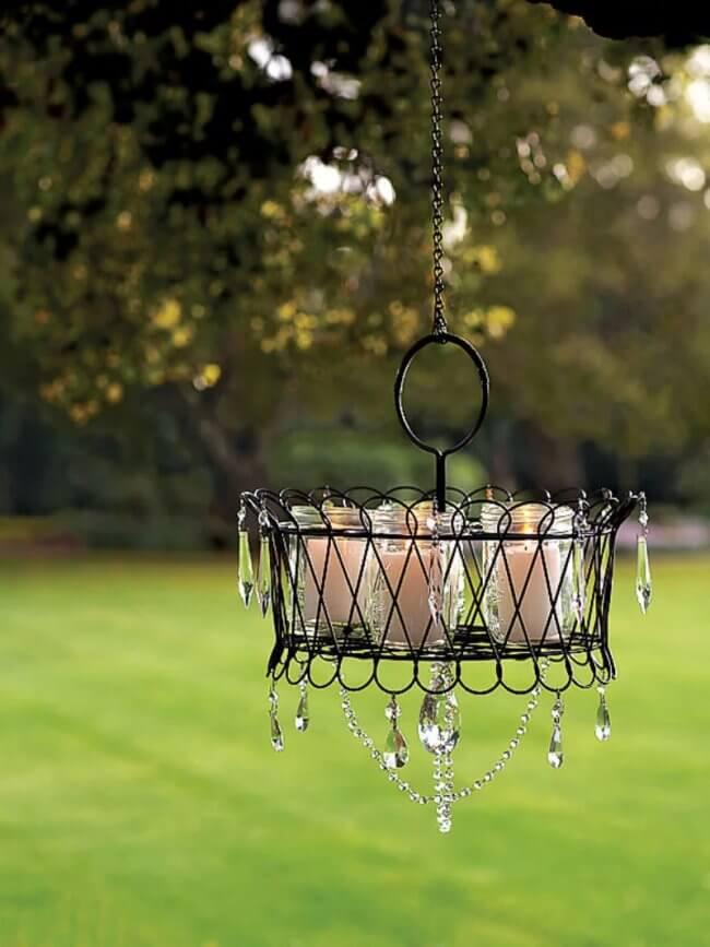 Make an Outdoor Chandelier