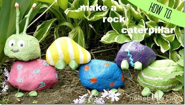 Rock Garden Caterpillar
