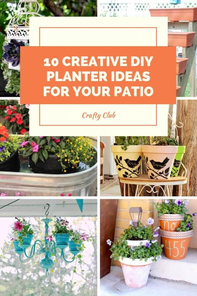 10 Creative Diy Planter Ideas For Your Patio