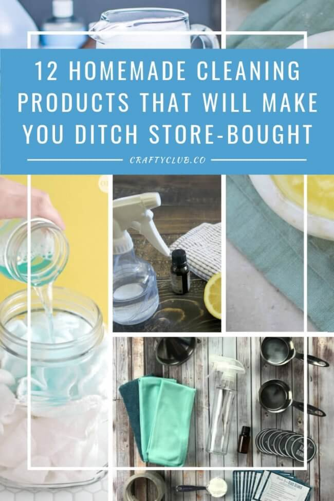 12 Homemade Cleaning Products That Will Make You Ditch Store-bought