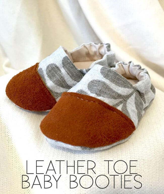 Baby Shoe DIY - An Awesome Pattern