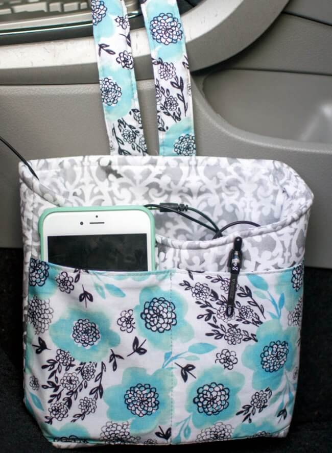 Car Diddy Bag - Free Sewing Tutorial
