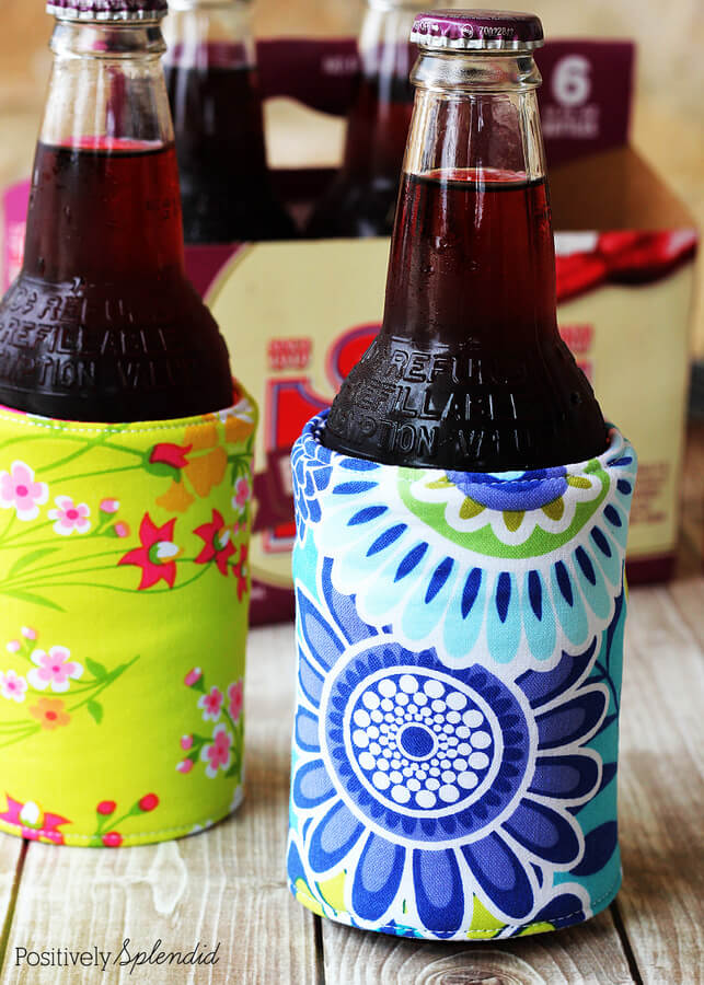 Diy Insulated Beverage Holders (Koozies)