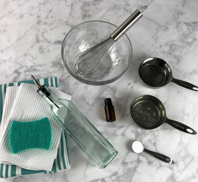 12 Homemade Cleaning Products That Will Make You Ditch Store-bought - DIY Liquid Dish Soap Recipe