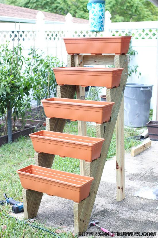 Diy Vertical Planter Garden