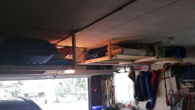 12 Smart Garage Organization Ideas - Extra Storage Shelving in Your Garage