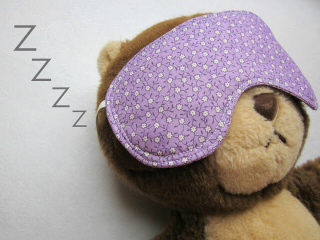 Eye Mask - Free Pattern & Tutorial