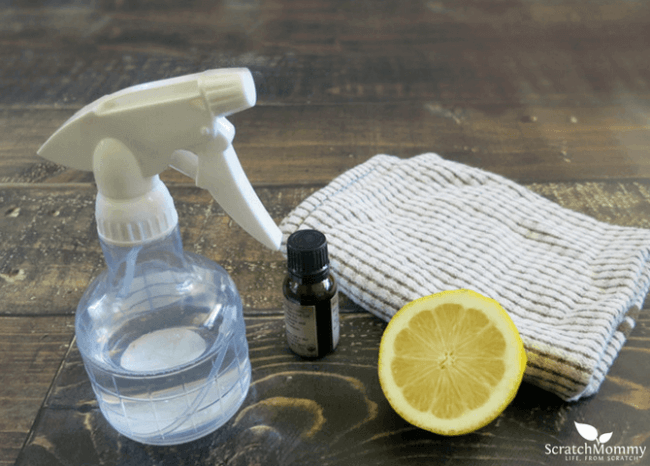 12 Homemade Cleaning Products That Will Make You Ditch Store-bought - Homemade Wood Cleaner (it's wood polish, too!)