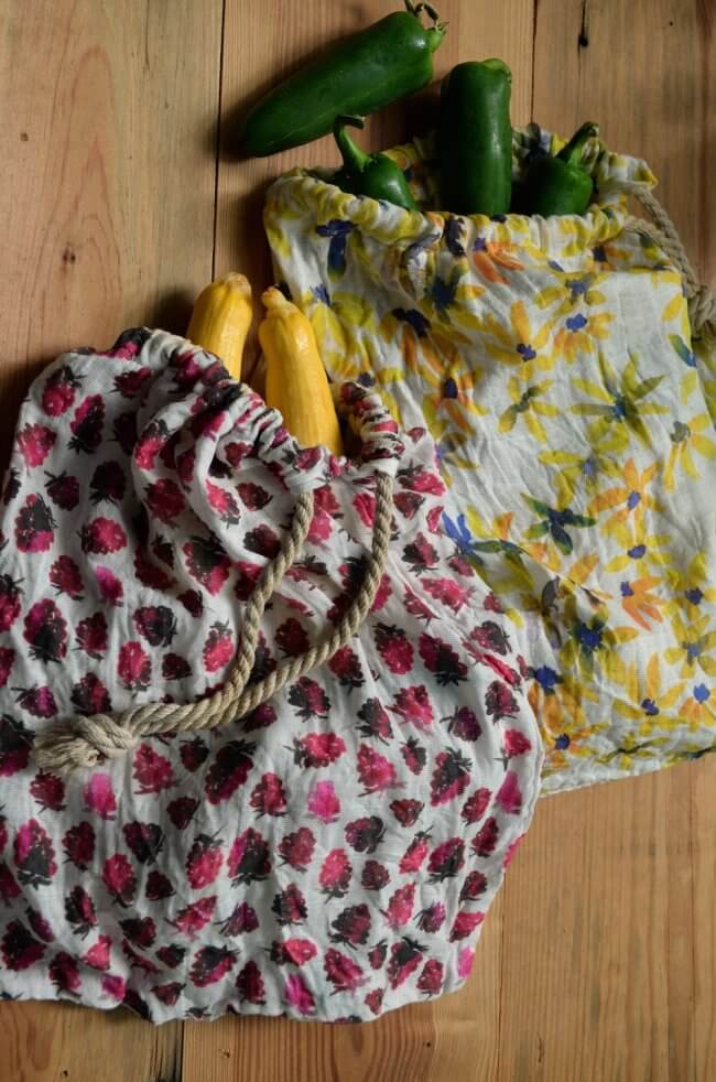 How to Make a Reusable Bag for the Market in Under 1 Hour!