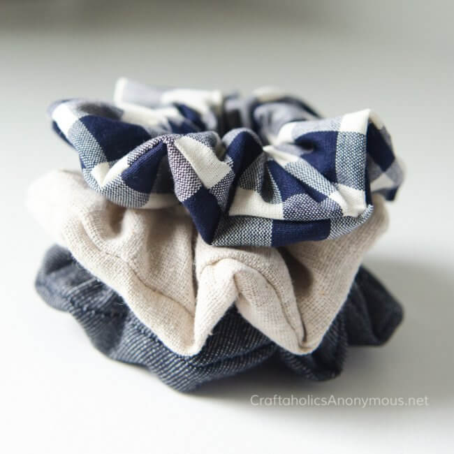 How to Sew Scrunchies Tutorial