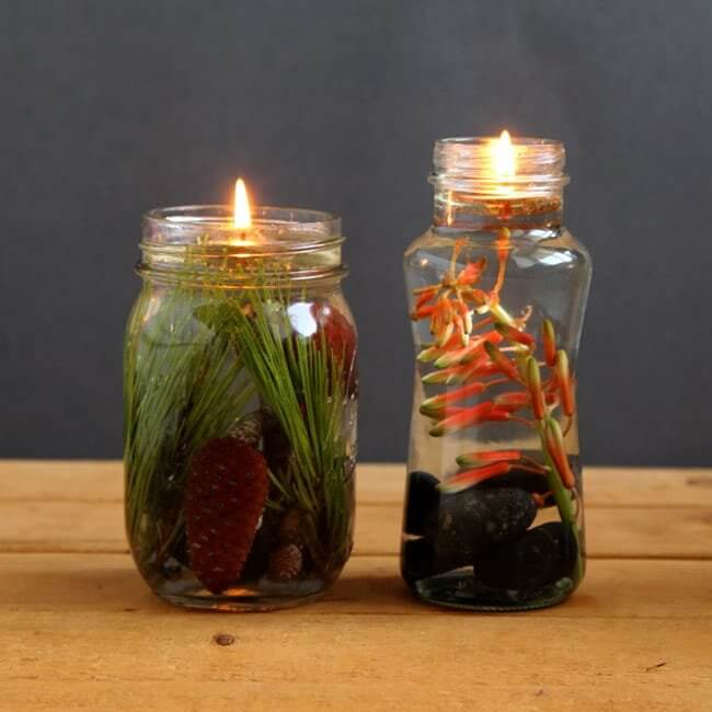 Magical Mason Jar Oil Lamp ( Diy Oil Candles In 2 Minutes! )