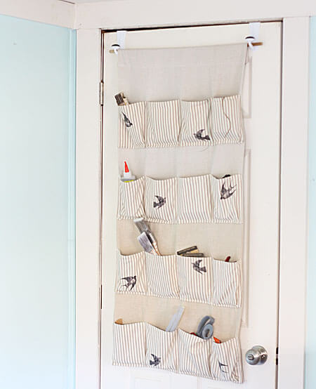 Stylish Storage: Hanging Organizer