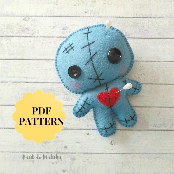 Voodoo doll pattern