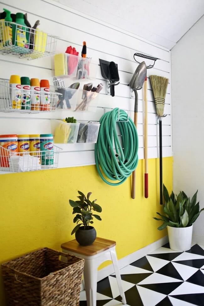 12 Smart Garage Organization Ideas - Workshop Space Organization