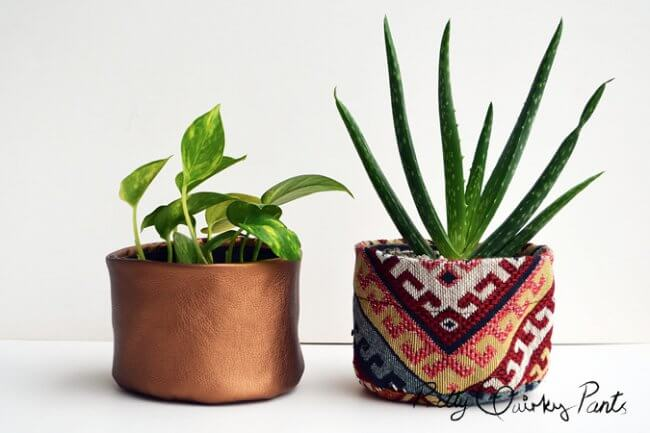 DIY Fabric Pots