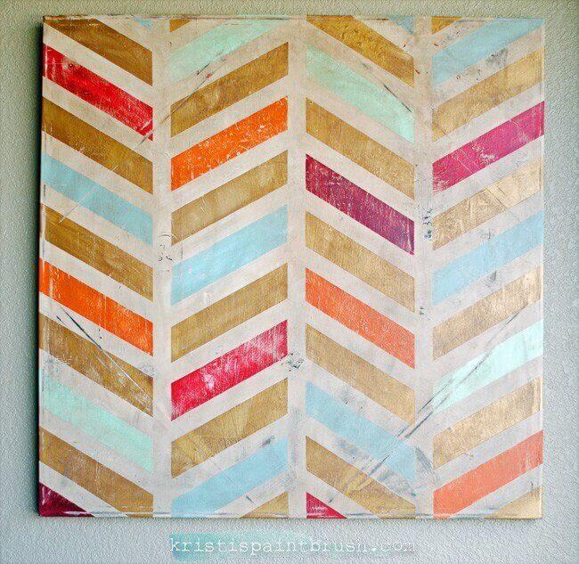 12 Simple Yet Stunning Canvas Painting Ideas Crafty Club Diy Craft Ideas