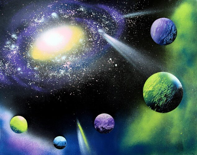 Paint A Galaxy in 30 Minutes!