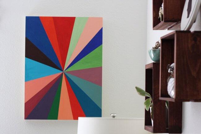 A Pinwheel Painting