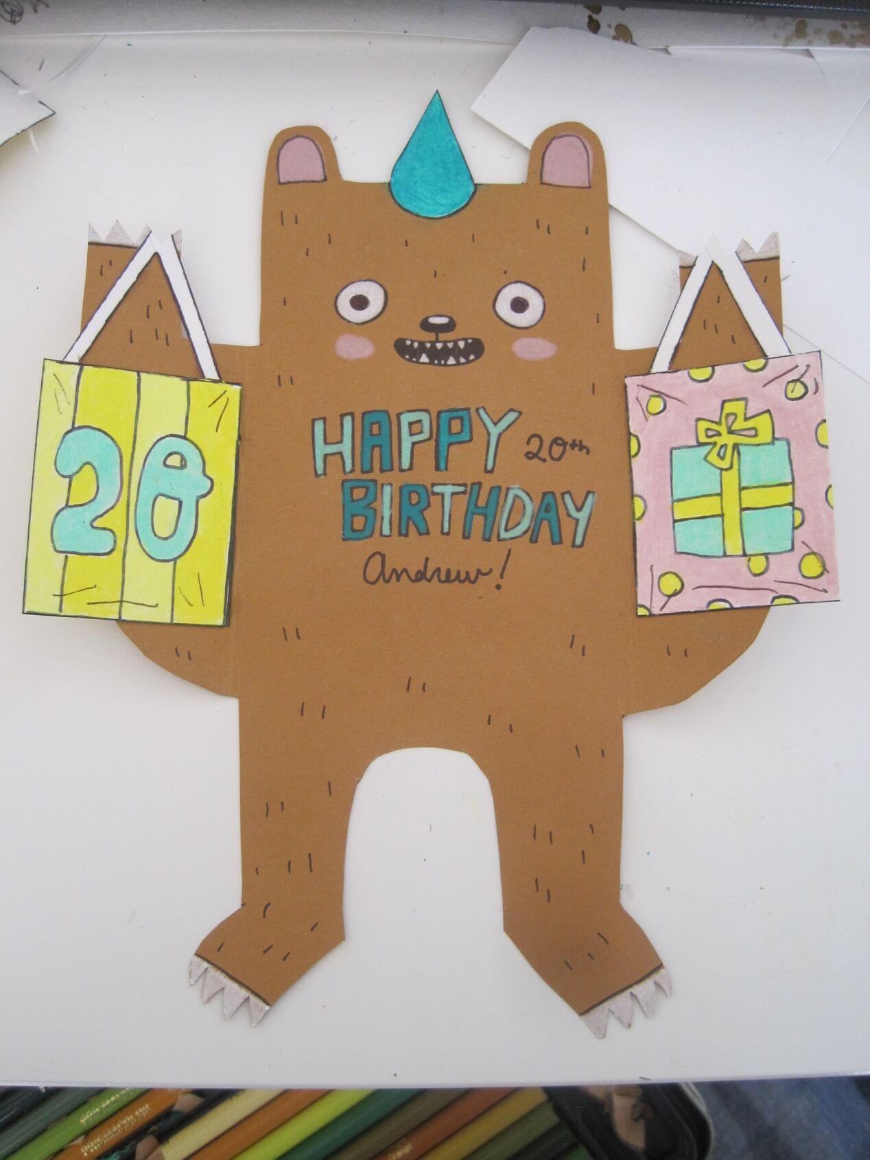 20 Awesome Homemade Birthday Card Ideas | Crafty Club ...