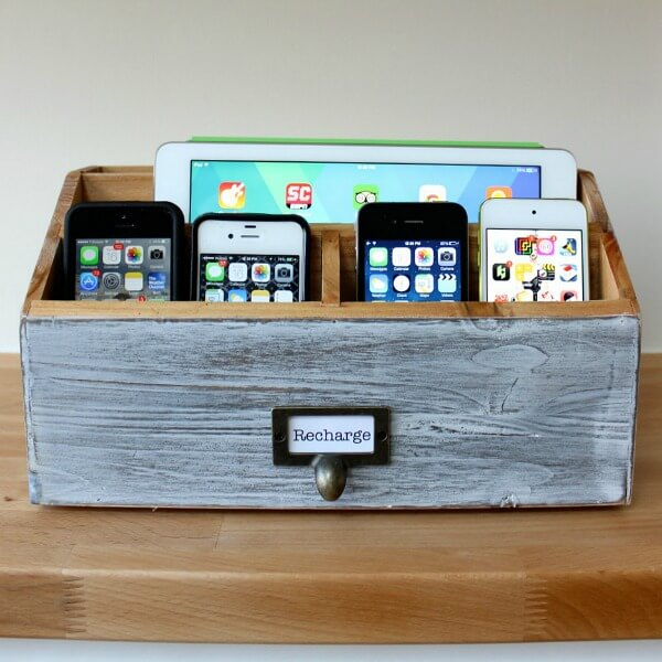 Diy Family Charging Station
