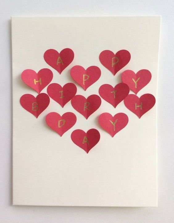 Love Hearts Card