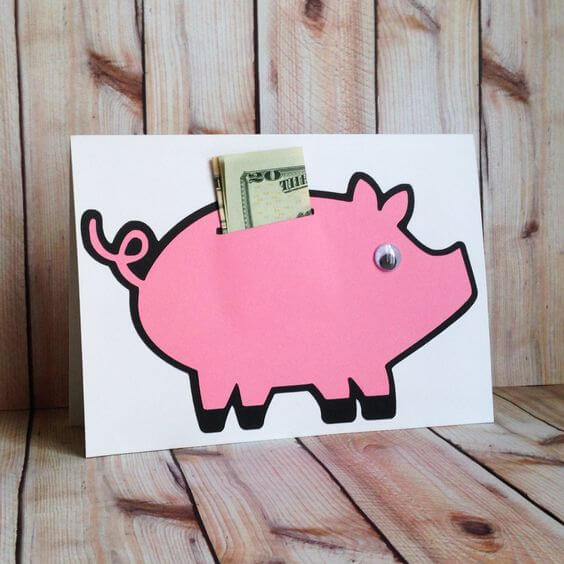 Piggy Bank Card