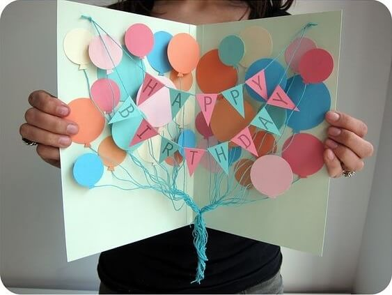 20 Awesome Homemade Birthday Card Ideas Crafty Club Diy