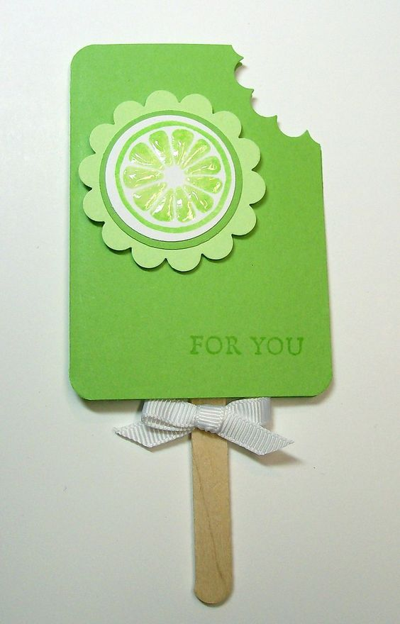 Popsicle Gift Card