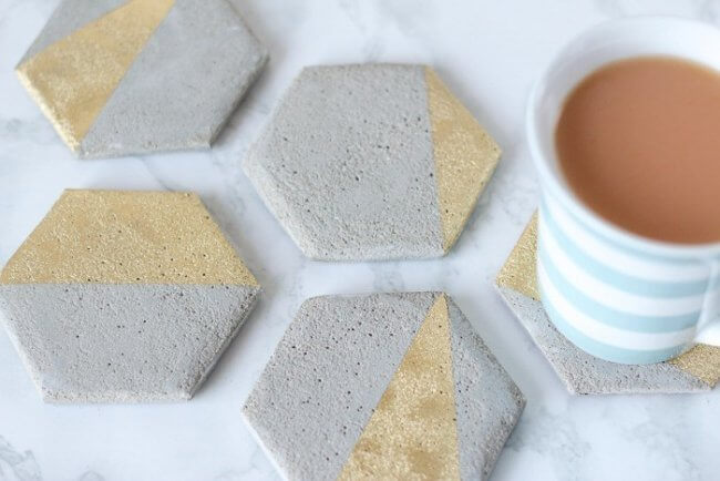 Diy Cement Coasters: Super Easy Tutorial