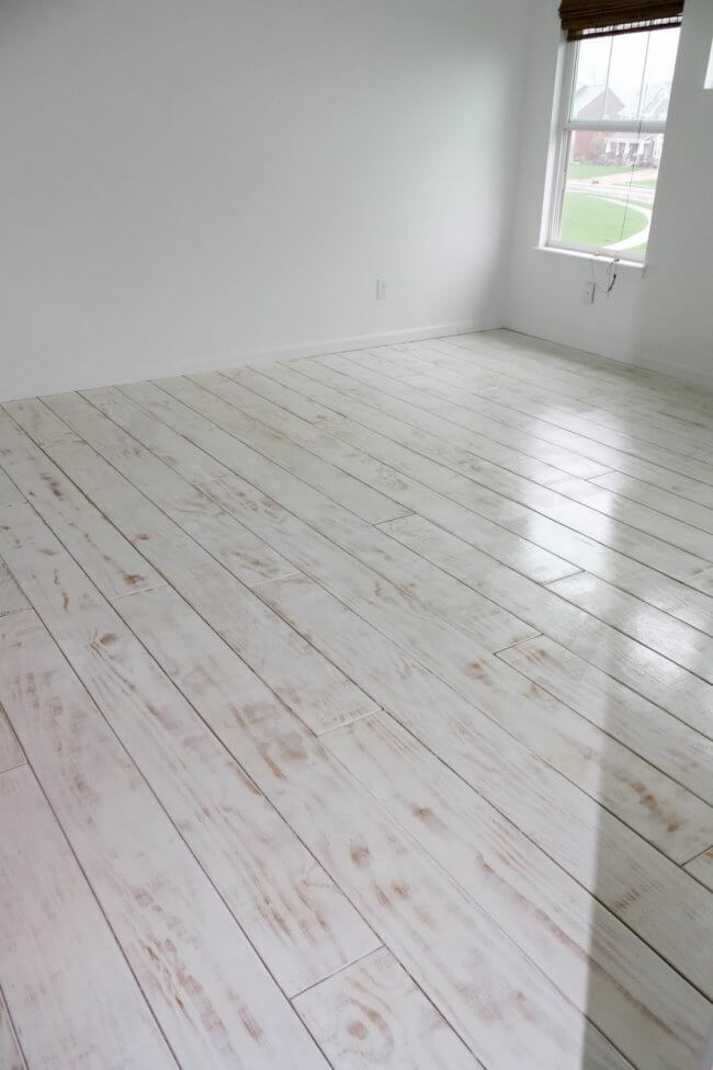 Diy Planked Floors