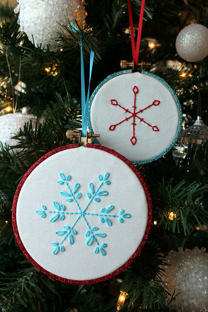 Embroidery Snowflake Patterns