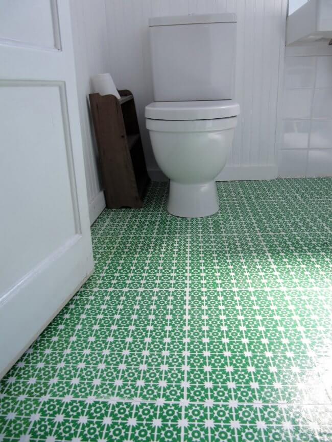 My Fancy Bathroom Floor