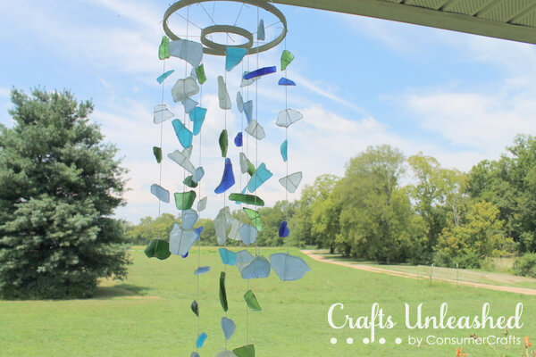 Sea Glass DIY Wind Chimes