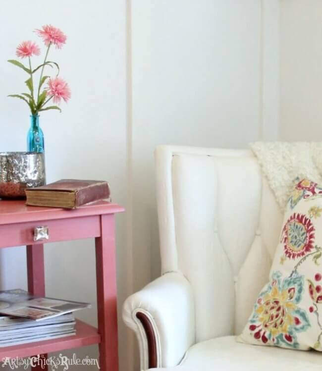 Thrifty French Chair Makeover (Annie Sloan Chalk Paint)