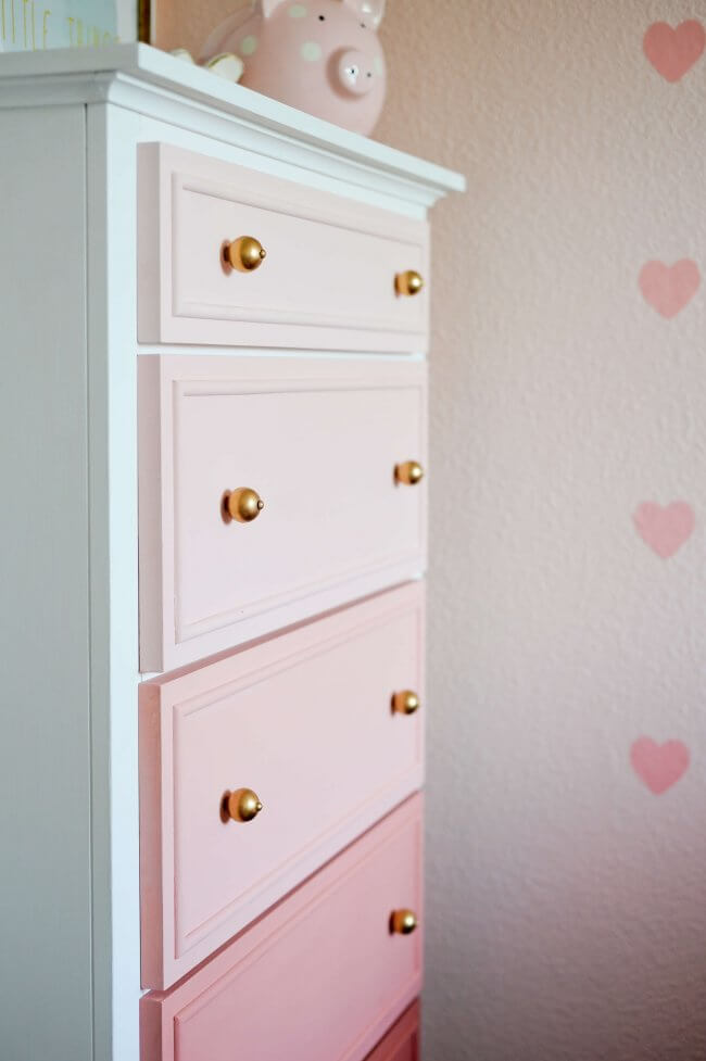 Transform Your Old Dresser into an Ombre Masterpiece!