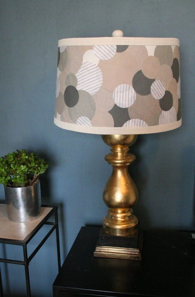 Tutorial: Anthropologie Lampshade (via Design Dump)