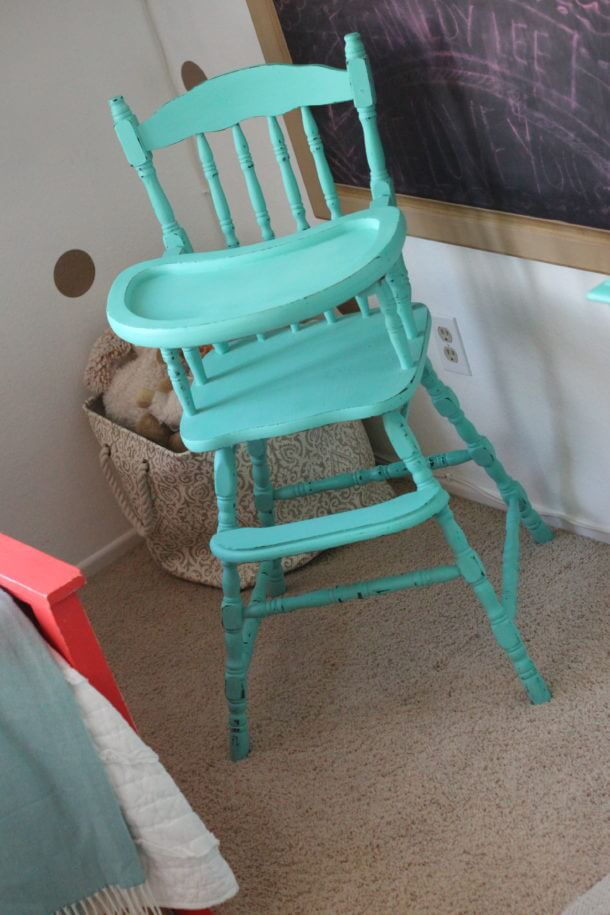 Vintage Highchair | Chalk Paint Recipe