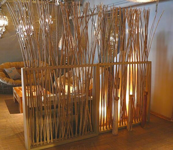Bamboo Home Interiors Accents Piece – A Bamboo Room Divider