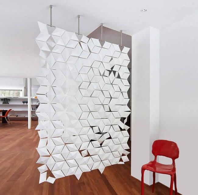 Hanging Room Divider Facet