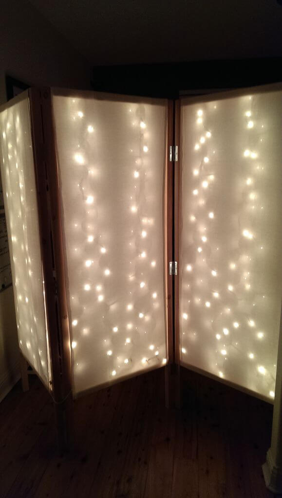 Lighted Room Divider/Privacy Screen