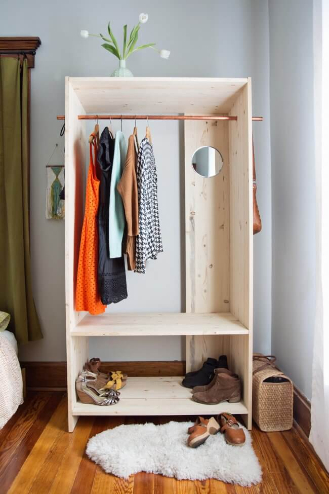 Modern Wooden Wardrobe Diy