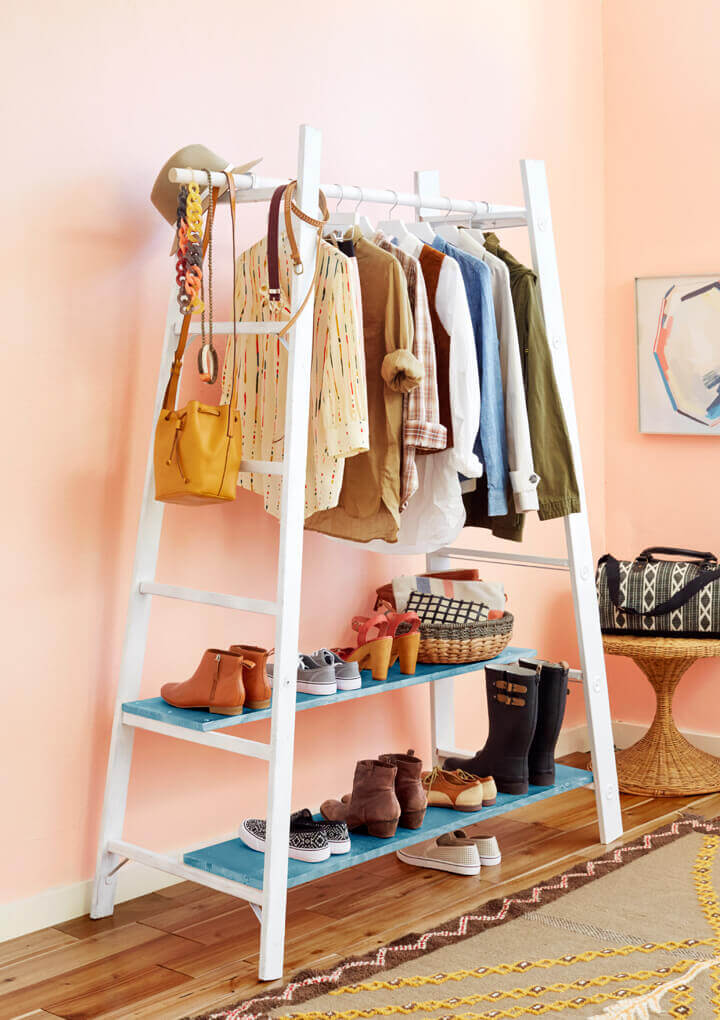 Simple Diy Clothes Rack Tutorials