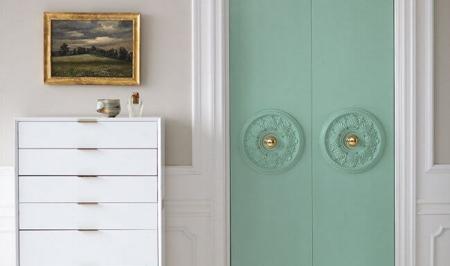 Turn Your Plain Closet Doors into MAJOR Style Statements