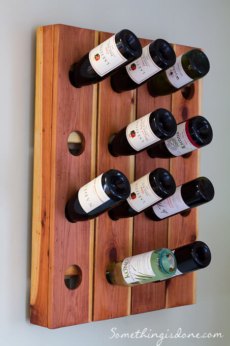 DIY Wine Rack Instructions