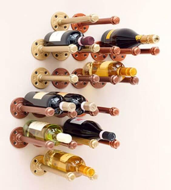 Danny Seo's DIY Wine Rack