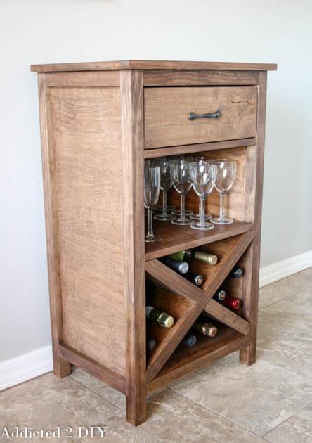 Diy Wine Cabinet